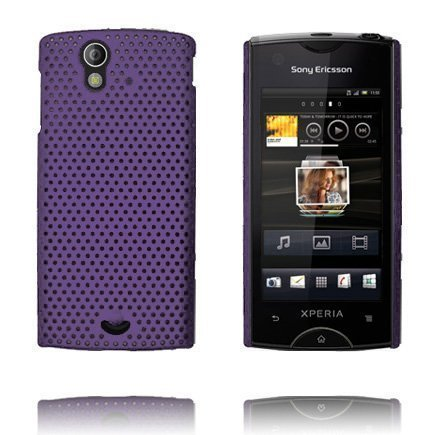 Atomic Violetti Sony Ericsson Xperia Ray Suojakuori