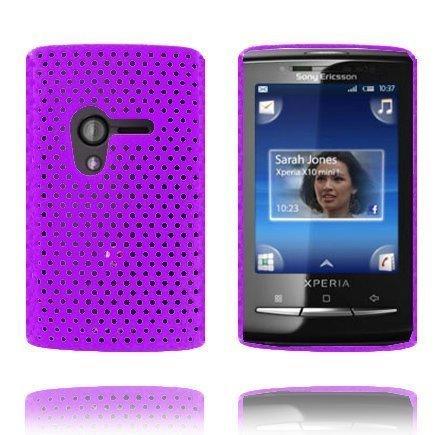 Atomic Violetti Sony Ericsson Xperia X10 Mini Suojakuori