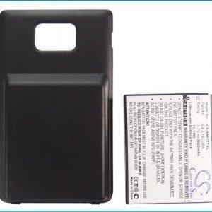 Attain SGH-I777 Galaxy S II 4G AT&T Galaxy S2 Galaxy S II erillisellä yhteensopiva akku 3000 mAh