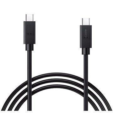 Aukey CB-C2 USB 3.1 Type-C / Type-C Cable 0.9m Black