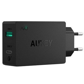 Aukey PA-Y2 Qualcomm Quick Charge 3.0 Type-C Wall Charger 6A