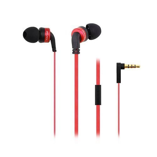 Awei Es-13i Mega Bass Nappikuulokkeet Mikrofonilla Punainen