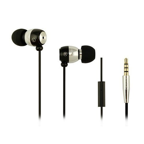 Awei-Q38i Metal Nappikuulokkeet Mikrofonilla Hopea