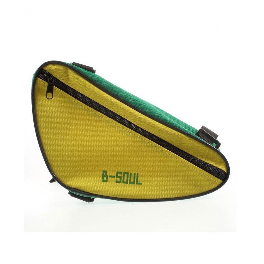 B-Soul Kolmion Muotoinen Satulalaukku Keltainen