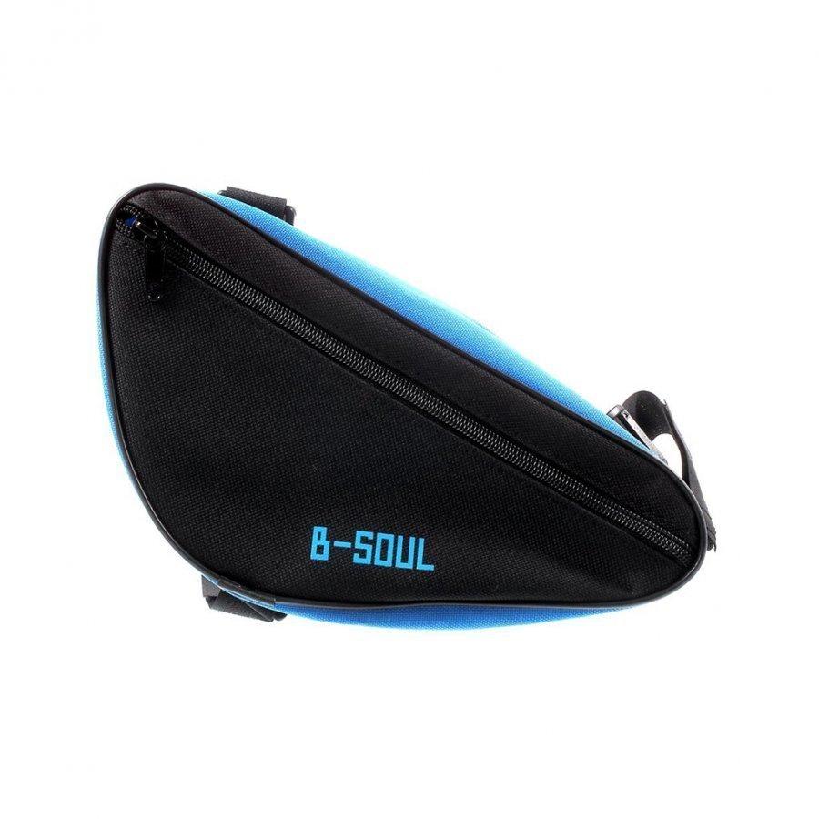 B-Soul Kolmion Muotoinen Satulalaukku Sininen / Musta