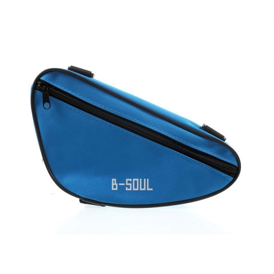 B-Soul Kolmion Muotoinen Satulalaukku Sininen
