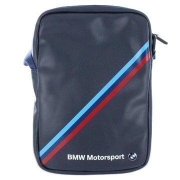 BMW Motorsport Tablet Shoulder Bag 7 8 Black