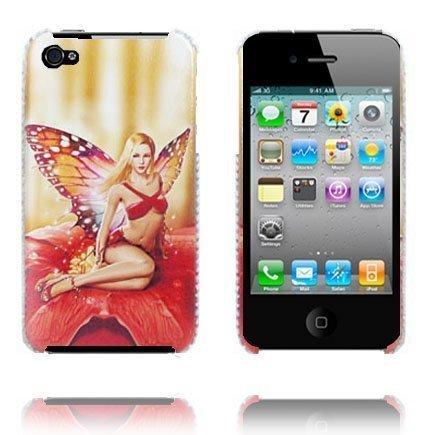 Babe Punainen Perhonen Iphone 4 Suojakuori
