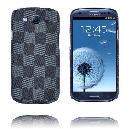 Barsberry Chess Musta Samsung Galaxy S3 Suojakuori