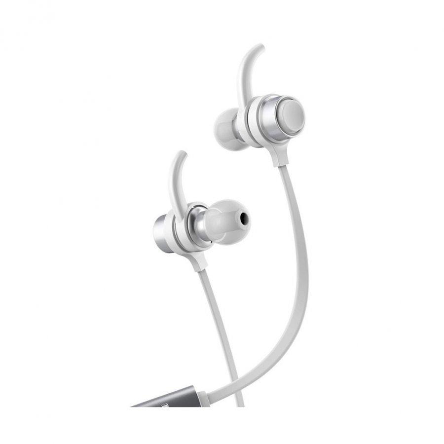 Baseus B16 Bluetooth 4.1 Nappikuulokkeet Mikrofonilla Älypuhelimille Valkoinen
