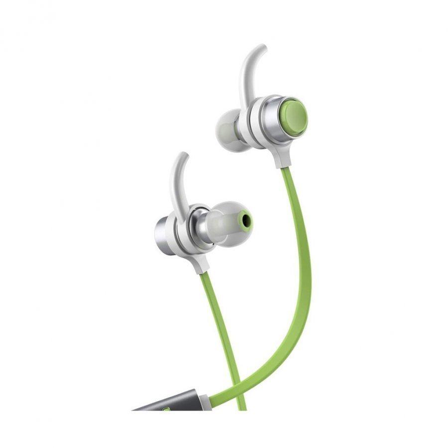 Baseus B16 Bluetooth 4.1 Nappikuulokkeet Mikrofonilla Älypuhelimille Vihreä