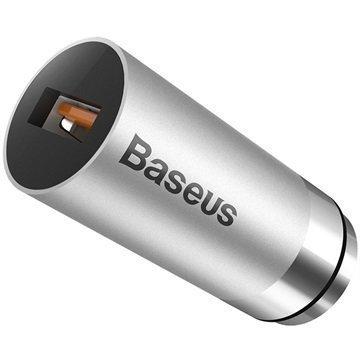 Baseus CarQ QC3.0 Autolaturi Harmaa