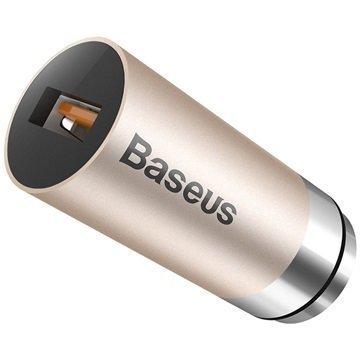 Baseus CarQ QC3.0 Autolaturi Kulta