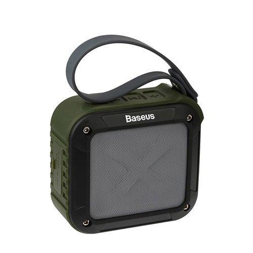 Baseus Gaiety Sarjan Bluetooth Kaiutin Ulkokäyttöön Armeija Vihreä