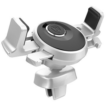 Baseus Mechanical Era Universal Air Vent Car Holder Silver