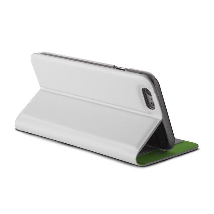Beeyo Book Fusion Lompakkomallinen suojakotelo Apple iPhone 5 / 5S Valkoinen