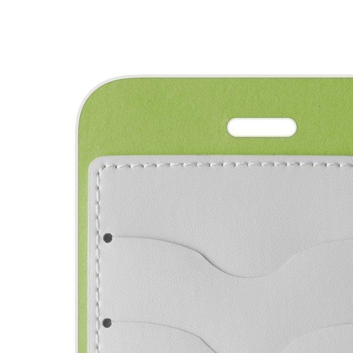 Beeyo Book Fusion Lompakkomallinen suojakotelo Samsung Galaxy S4 Valkoinen