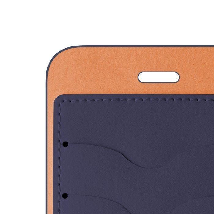 Beeyo Book Fusion Lompakkomallinen suojakotelo Samsung Galaxy S5 / S5 Neo Sininen