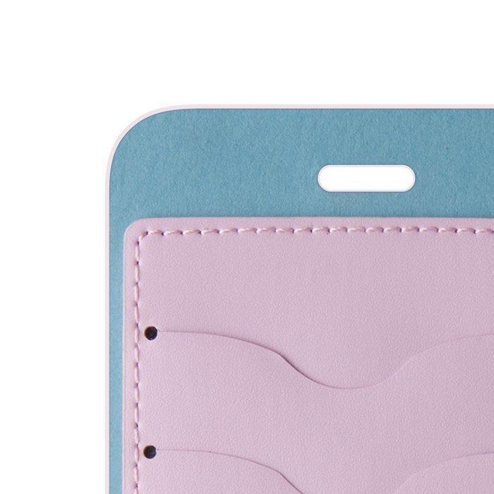 Beeyo Book Fusion Lompakkomallinen suojakotelo Samsung Galaxy S6 Pinkki