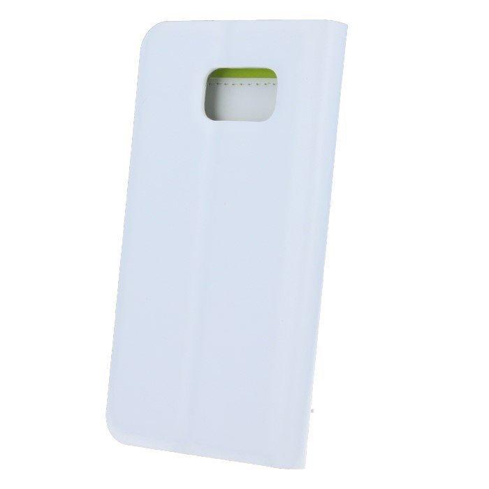 Beeyo Book Fusion Lompakkomallinen suojakotelo Samsung Galaxy S6 Valkoinen