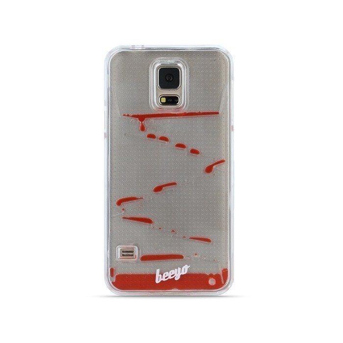 Beeyo Diamond Drops suojakotelo Samsung Galaxy S5 Punainen
