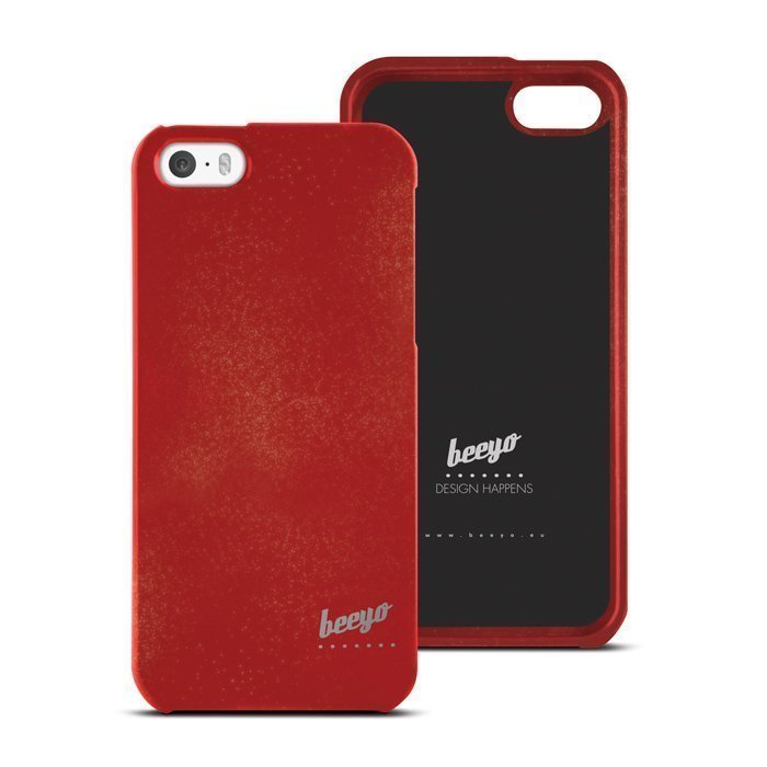 Beeyo Spark Maroon suojakotelo iPhone 5 / 5S