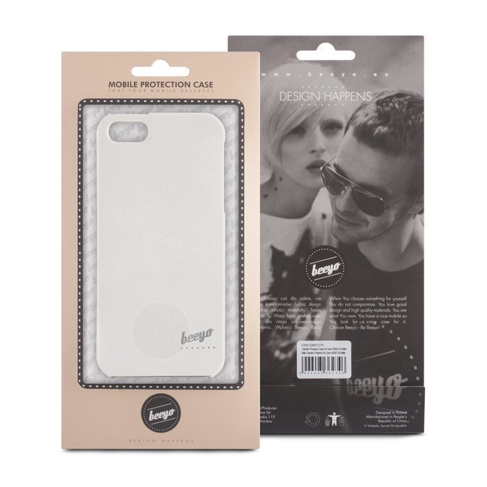 Beeyo Spark White suojakotelo iPhone 5 / 5S