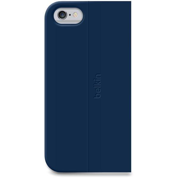 Belkin Classic Folio iPhone 6 polyuretaanisuojus sininen
