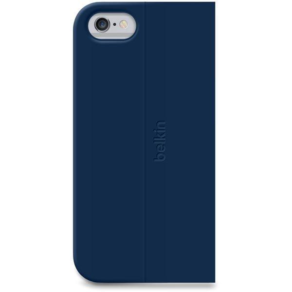 Belkin Classic Folio polyuretaanisuojus iPhone 6 sininen