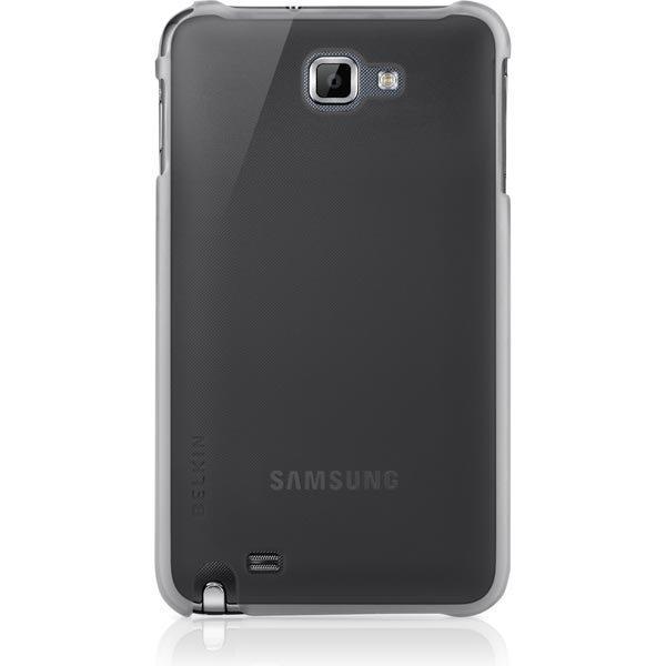 Belkin Essential 034 termomuovi suojus Galaxy Note malliin läpinäkyvä