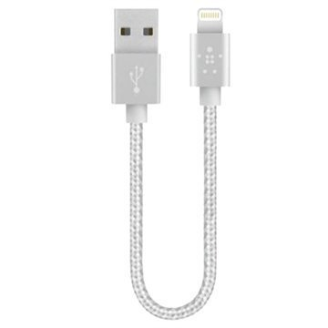 Belkin Lightning / USB Cable iPhone 6 / 6S iPad Pro iPad Mini 4 Silver