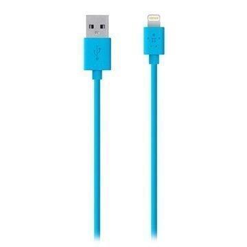 Belkin Lightning / USB ChargeSync Lataus- ja Synkronointikaapeli Sininen