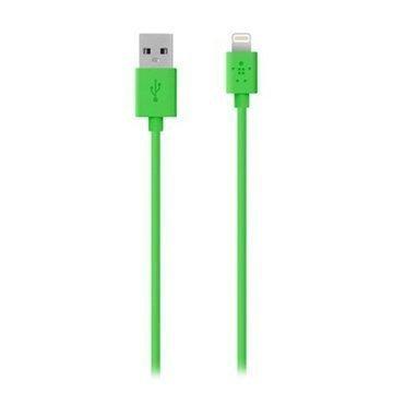 Belkin Lightning / USB ChargeSync Lataus- ja Synkronointikaapeli Vihreä