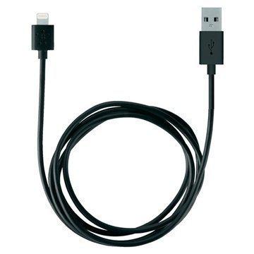 Belkin Lightning / USB Lataus -ja Synkronointikaapeli Musta 2 M