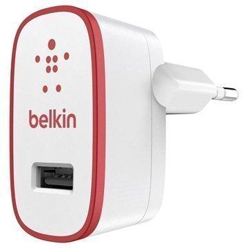 Belkin Mixit USB-Laturi- Valkoinen / Punainen