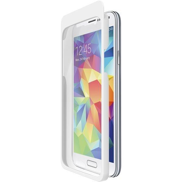 Belkin TrueClear ExactAlign Anti-smudge suojakalvo Galaxy S5 1-pakka
