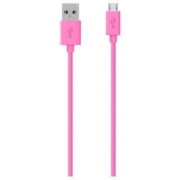 Belkin USB 2.0 / MicroUSB Kaapeli Pinkki