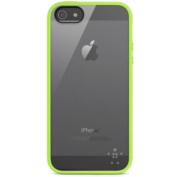 Belkin View Case suojus iPhone 5 puhelimelle vihreä