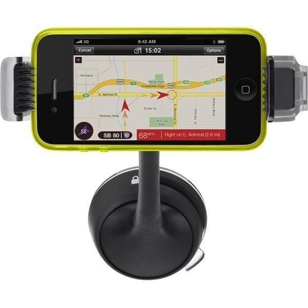 Belkin pidin GPS ja matkapuhelimelle autoon musta