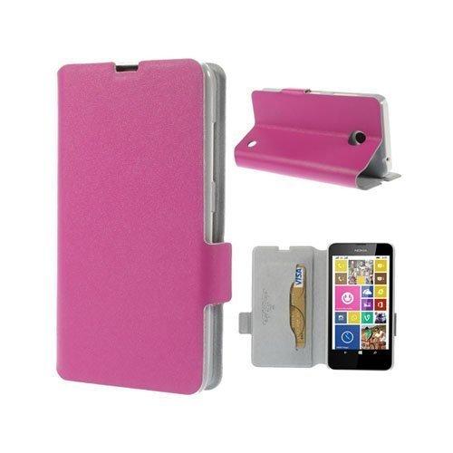 Bellman Kuuma Pinkki Nokia Lumia 630 / 635 Nahkakotelo