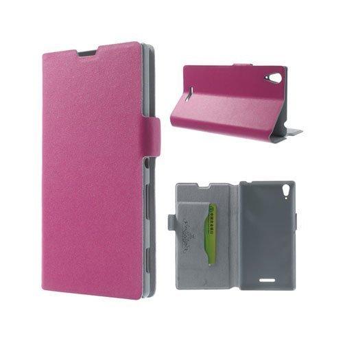 Bellman Kuuma Pinkki Sony Xperia T3 Genuine Nahkakotelo