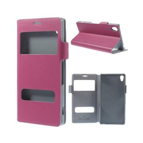 Bellman Kuuma Pinkki Sony Xperia Z3 Nahkakotelo