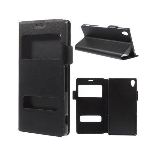 Bellman Musta Sony Xperia Z3 Nahkakotelo