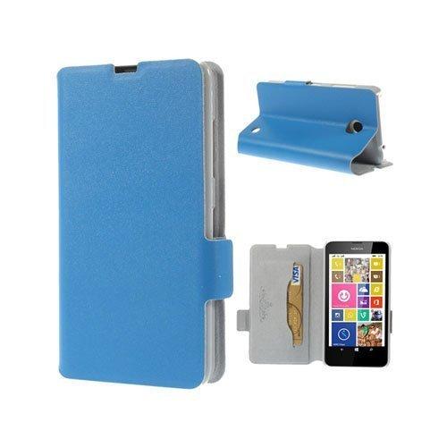 Bellman Sininen Nokia Lumia 630 / 635 Nahkakotelo