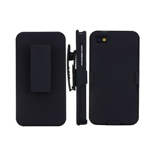Belt-Clip Musta Blackberry Z10 Kotelo