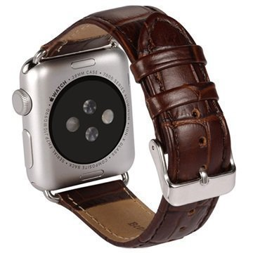 Benks Nahkainen Ranneke Apple Watch 38mm Ruskea