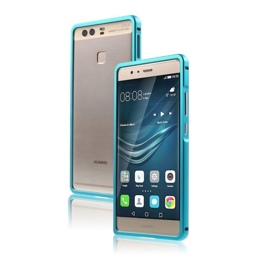 Bergman Alumiini Seos Suojus Huawei P9 Puhelimelle Sininen