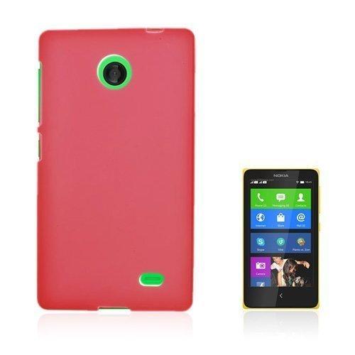 Bergman Punainen Nokia X Suojakuori