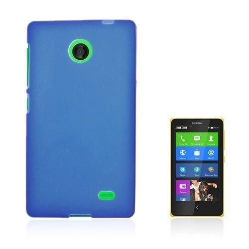 Bergman Tumma Sininen Nokia X Suojakuori
