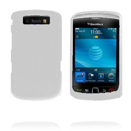 Beta Shell Valkoinen Blackberry Torch 9800 Silikonikuori